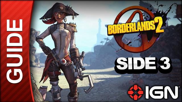 Borderlands 2 Captain Scarlett and Her Pirate's Booty DLC Walkthrough - Don't Copy That Floppy - Side Mission (Part 3)