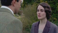 Downton Abbey Season 4 - Michelle Dockery Lady Mary Crawley Clip