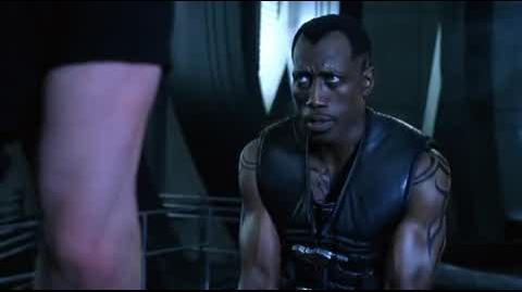 Blade II - Blade cuts up Reinhardt