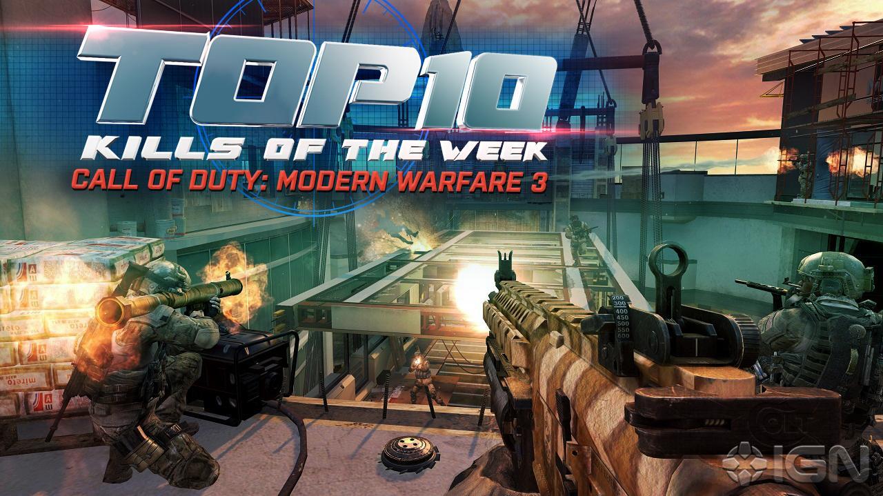 Call of Duty Modern Warfare 3 - Top 10 Kills (11.02.12)