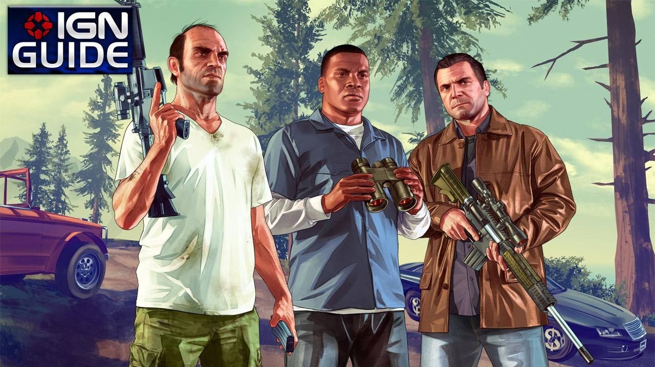 GTA 5 Walkthrough ENDING C The Third Way pt 01