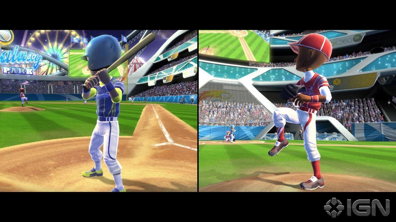 PAX Kinect Sports Season Two – Baseball Gameplay