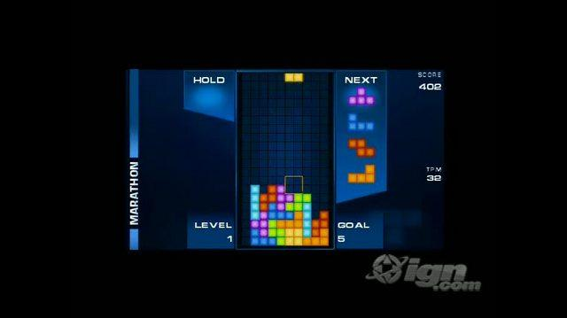 Tetris (EA) Sony PSP Trailer - TGS 09 Trailer