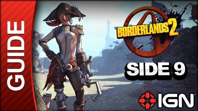 Borderlands 2 Captain Scarlett and Her Pirate's Booty DLC Walkthrough - Grendel - Side Mission (Part 9)