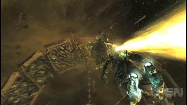Dead Space 2 PS3 - Gamescom Halo Jump Trailer