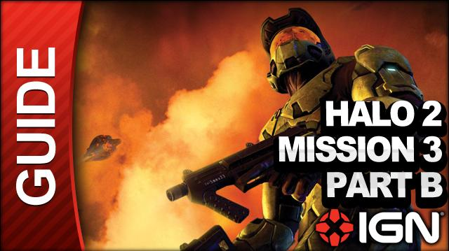 Halo 2 - Mission 3 Part B Cairo Station - Walkthrough