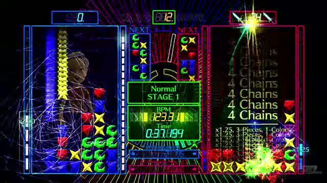 0-D Beat Drop Xbox Live Gameplay - Drop to the Beat