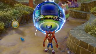 Crash Bandicoot N. Sane Trilogy Gameplay — Double Header Level Playthrough