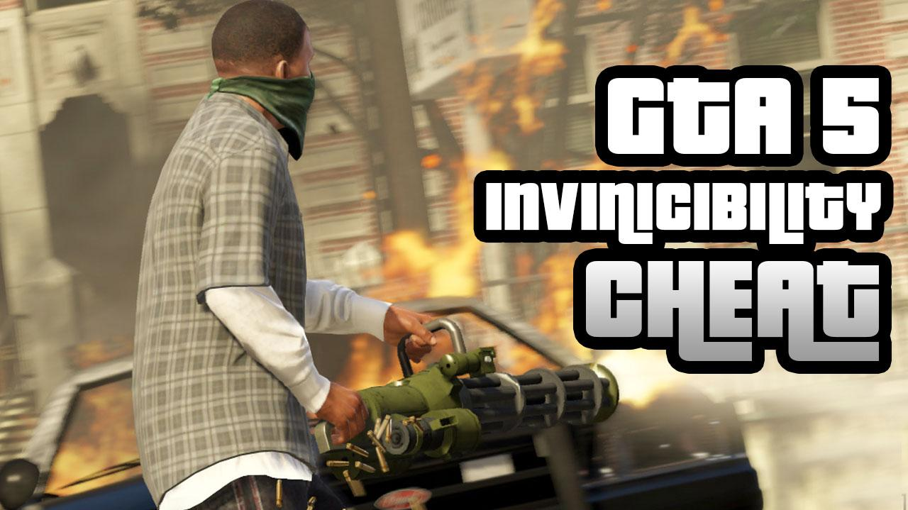 GTA 5 Cheat Invincibility