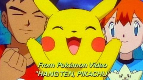 Pokemon Hang Ten (2000) - Clip Surf scene