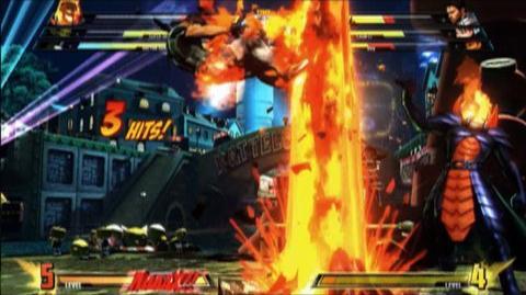 Marvel vs. Capcom 3 Fate of Two Worlds (VG) (2011) - Dormammu trailer
