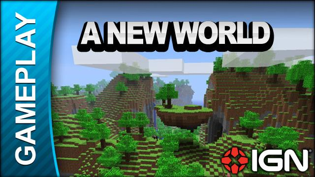 Minecraft - A New World - Gameplay