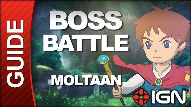 Ni No Kuni - Boss Battle Strategy Moltaan