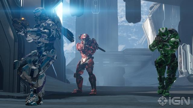 """Halo 4 """"Abandon"""" Multiplayer Map Walkthrough With 343i"""
