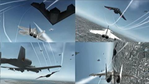 Ace Combat Joint Assault (VG) (2010) - Gamescon UK trailer