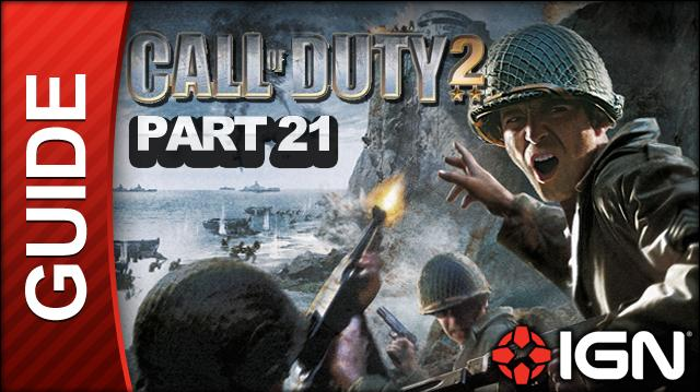 Call of Duty 2 Walkthrough Part 21 - The Battle of Pointe du Hoc - American Campaign