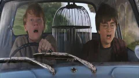 Harry Potter and the Chamber of Secrets - Ron's Car Breaks Down