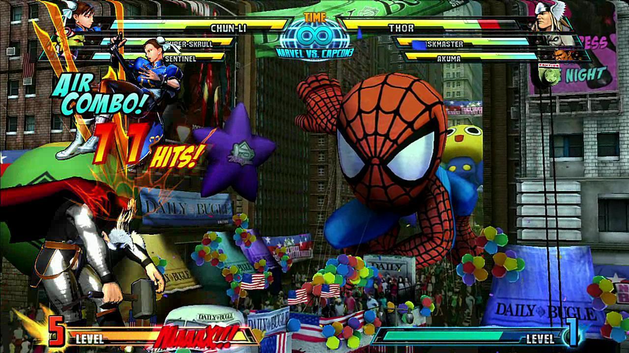 Marvel vs. Capcom 3 Chun Li Gameplay