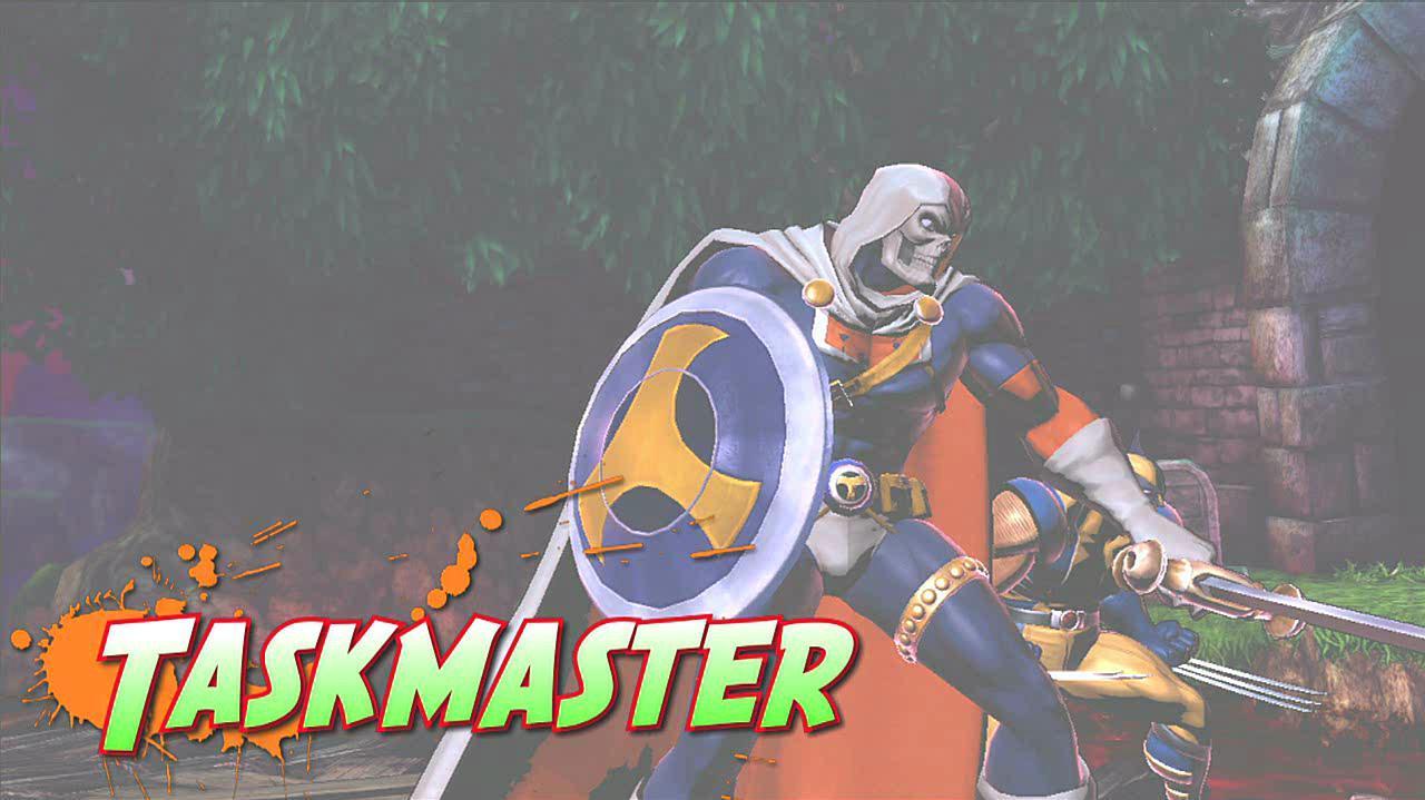 Marvel vs. Capcom 3 Taskmaster Gameplay