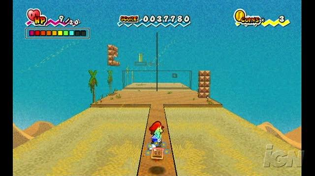 Super Paper Mario Nintendo Wii Gameplay - Gameplay
