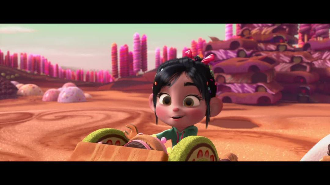 Wreck It Ralph Clip - Lickity Split