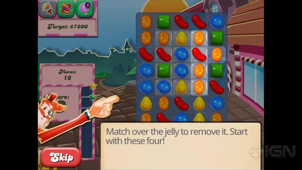 Candy Crush Saga Level 6