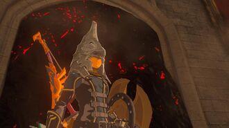Zelda Breath of the Wild - Zant's Helm Location (EX Treasure Usurper King)
