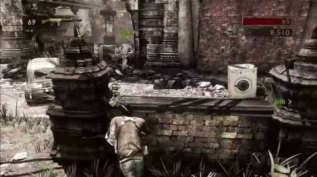 Uncharted 2 Among Thieves PlayStation 3 Gameplay - E3 2009 Playing To Win