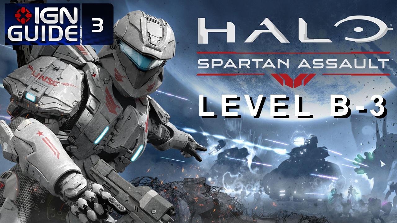 Halo Spartan Assault Walkthrough - Level B-3 Hunt for the Sangheili Command (Part 8)