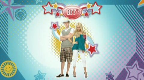 Hannah Montana High School Musical DVD Games (VG) (2008) - Clip BFFs