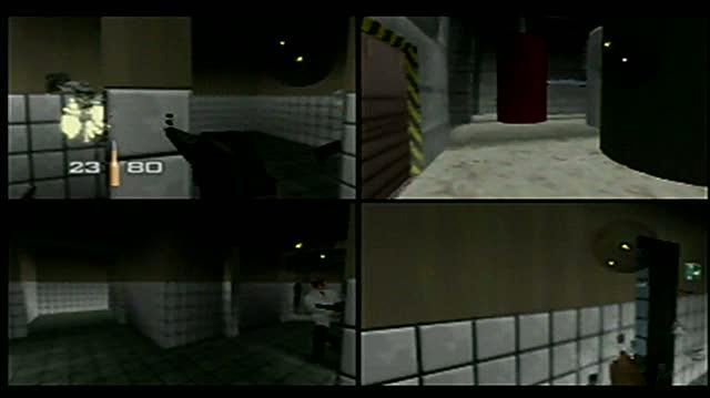 GoldenEye 007 Video Gameplay - GoldenEye 007 Multi Player (Aug