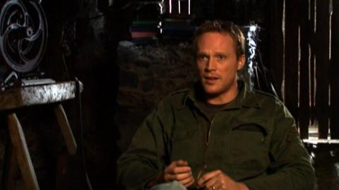 """Inkheart (2009) - Interview Paul Bettany """"On fantasy in the real world"""""""