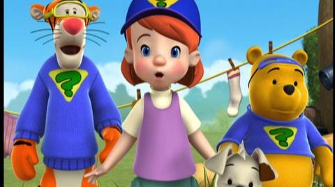 My Friends Tigger & Pooh Super Duper Super Sleuths (2010) - Clip Giant Garden