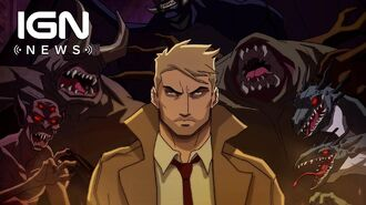 Constantine Animated Series Key Art Revealed - IGN News