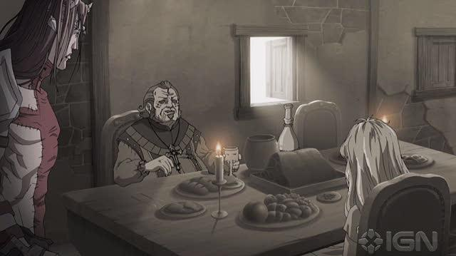 Dante's Inferno An Animated Epic DVD Clip - Gluttony