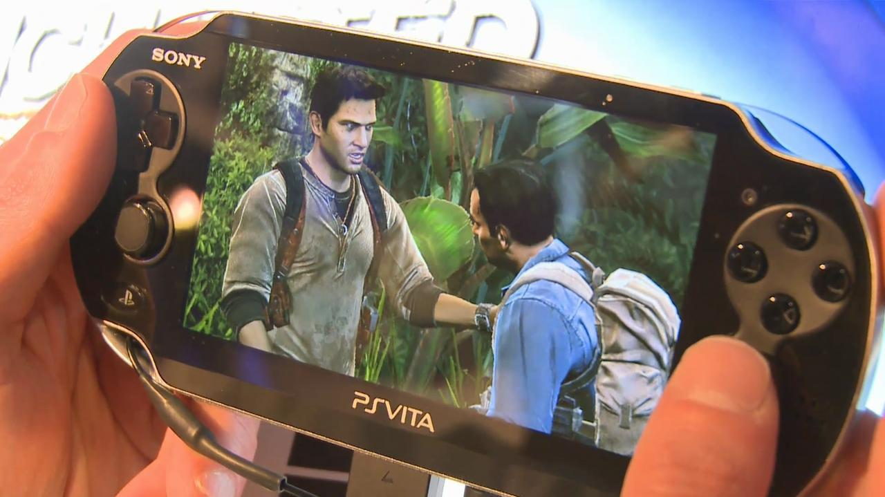 E3 2011 Uncharted Golden Abyss Off-Screen Demo Part 2