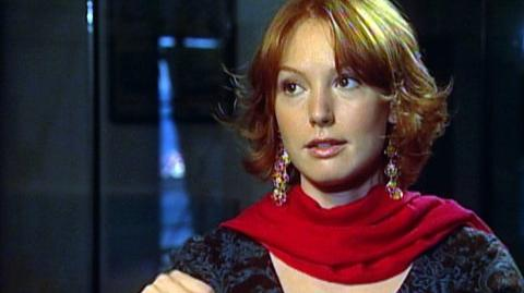 """88 Minutes (2008) - Interview Alicia Witt """"On why she liked the script"""""""