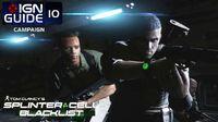 Splinter Cell Blacklist Perfectionist Walkthrough Part 10 - Airstrip