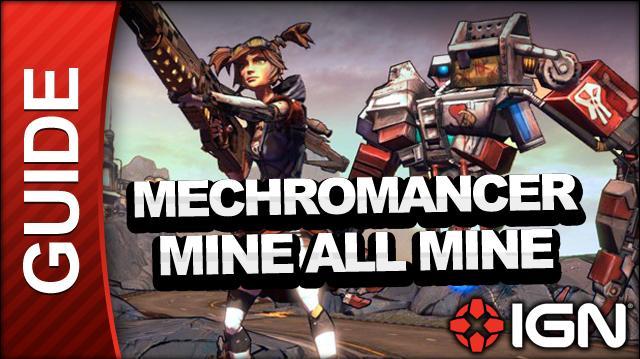 Borderlands 2 Mechromancer Walkthrough - Mine All Mine - Side Mission