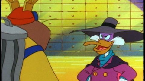 Darkwing Duck V.2 (2007) - Clip Impersonating a con, post