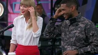 The Voice Usher And Taylor