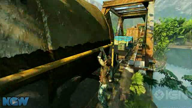 Uncharted 2 Among Thieves Video Guide-Walkthrough - Ch. 13 Locomotion - Part 1