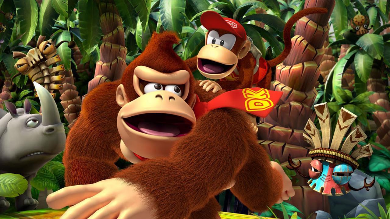 Donkey Kong Country Returns 3D Nintendo Direct
