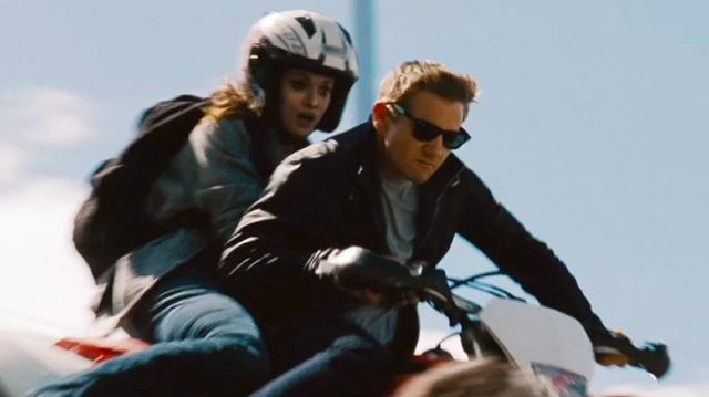 The Bourne Legacy Clip - Motorcycle Chase