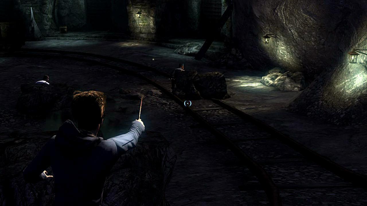 Harry Potter Deathly Hallows Part 2 - Cave Combat
