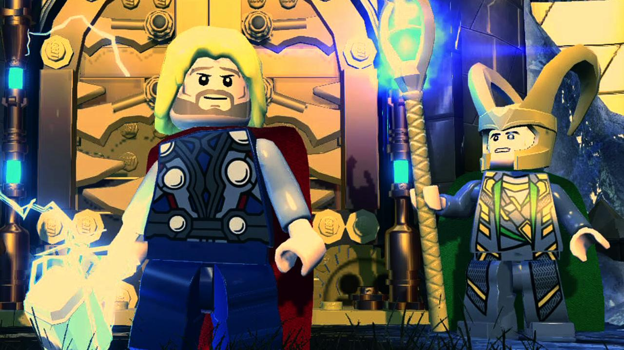 LEGO Marvel Super Heroes Asgard Character Pack Trailer