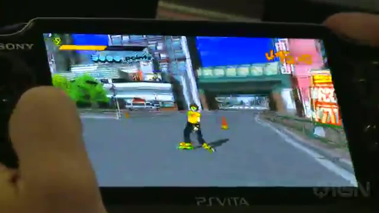 Jet Set Radio - Big Air Gameplay (Off-Screen) - E3 2012