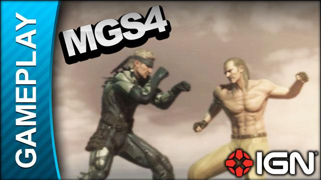 Metal Gear Solid 4 - A Score to Settle - Gameplay