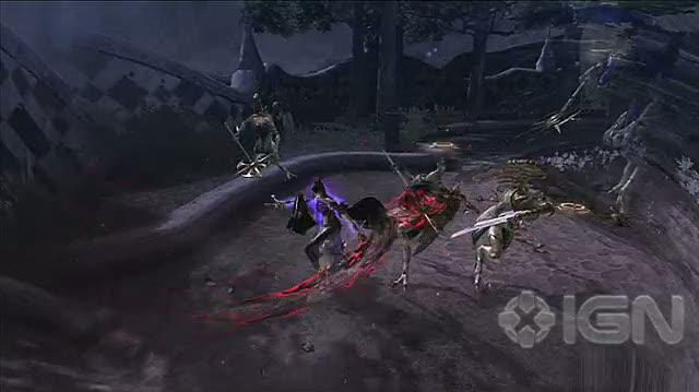 Bayonetta PlayStation 3 Gameplay - Tech Demo Special Effects On
