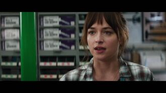 "Fifty Shades of Grey - ""Christian Surprises Ana"" Clip"